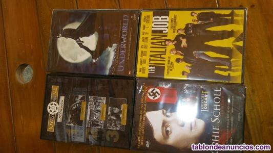 Varias peliculas dvd y cd