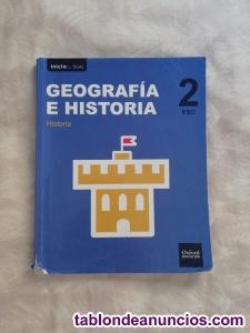 Libro geografia e historia inicial dual Oxford 2°ESO