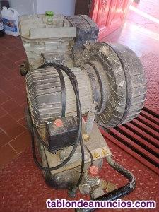 Compresor marca Cámara, 2 caballos con polea