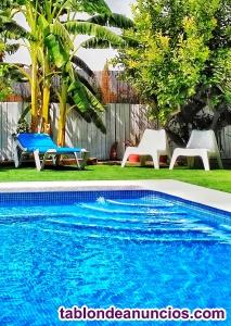 Alquilo casa rural con piscina en murcia