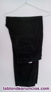 Pantalón  azul marino invierno algodón Cortefiel