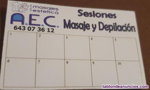 Salón masajes y estetica AEC