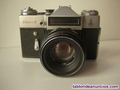 Cámara de Fotos Sovietica Zenit-E