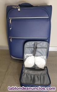 Nueva maleta  de viaje con neceser precio de liquidación