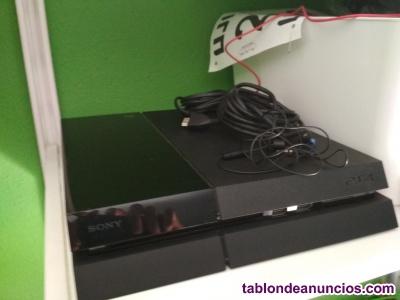 PS4 con 6 juegos