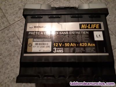 Vendo bateria de renault megane.