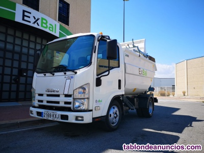 Camion basura satélite isuzu n1r - ref. 501