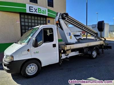 Camión cesta canasta peugeot movex ref.103