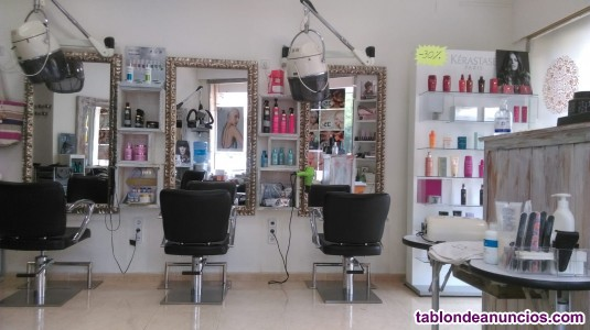 Traspaso de peluqueria-estetica por traslado a la peninsula