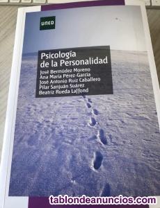 Vendo libro psicología de la personalidad