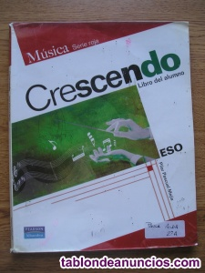 Libro musica 1ºeso-crescendo