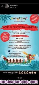 CAMPUS URBANOS DE COCINA PARA NINOS COOK AMP;AMP;PLAY.