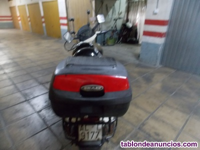 Moto vespa usada