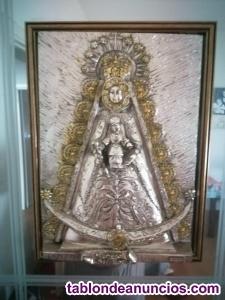 Cuadro de la Virgen del Rocío