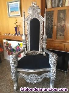 Elegante sillón en buen estado