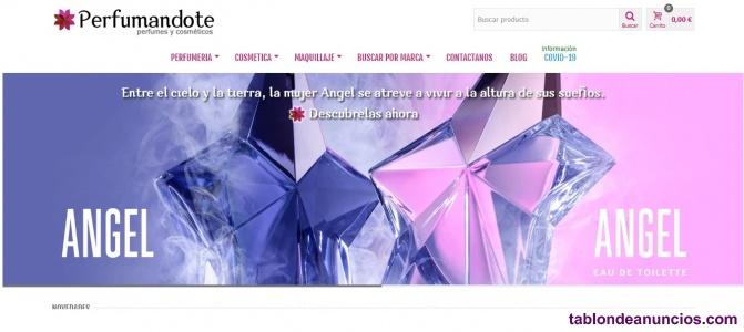 Venta de Tienda Online Dropshipping de Cosmética/Belleza
