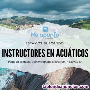 Buscamos instructores de deportes acuáticos