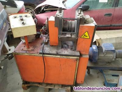 Curvadora, laminadora y lineadora tubos