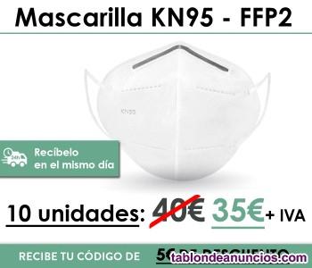 Mascarillas KN95 - FFP2 (10 uds. Homologadas)