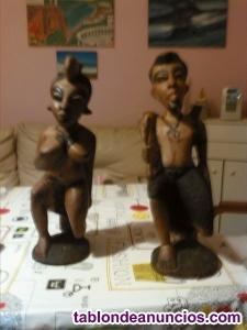 Oferta figuras autenticas africanas de madera