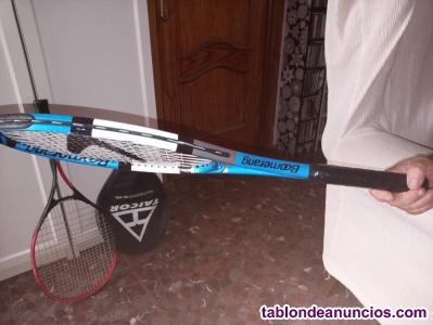 Oferta 2 raquetas con fundas en muy buen estado