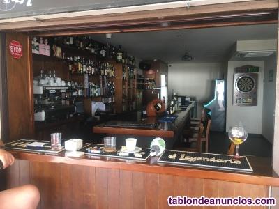 Traspaso bar/cafetería en 1º linea de playa...GENIAL OPORTUNIDAD!!