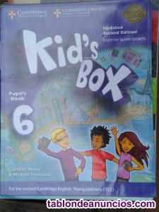 6O PRIMARIA KIDS BOX PUPIL BOOK