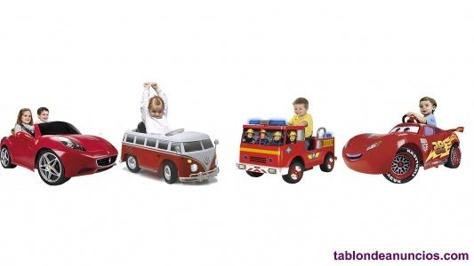 Traspaso negocio de alquiler de coches eléctricos infantiles