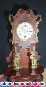 Reloj aleman lenzkirch de sobremesa de 1861