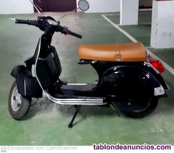 Vespa 150 cc clasica, version freno disco