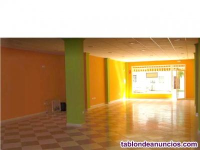 Vendo local de 120 m2.  con negocio en funcionamiento