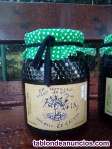 Miel cruda de la montaña del Bierzo/ Mielatode Roble