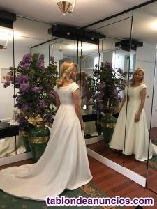 Vestido de boda espetacular