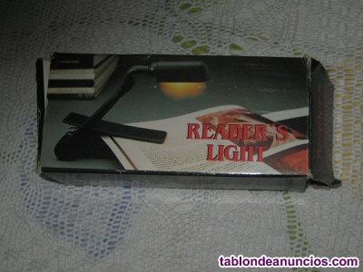 LÁMPARA de LECTURA (READER´S LIGHT).