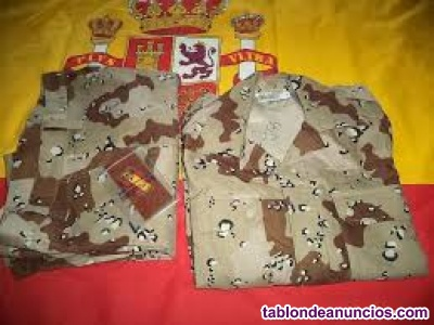 Vendo uniforme militar pixelado guerra del golfo sin estrenar