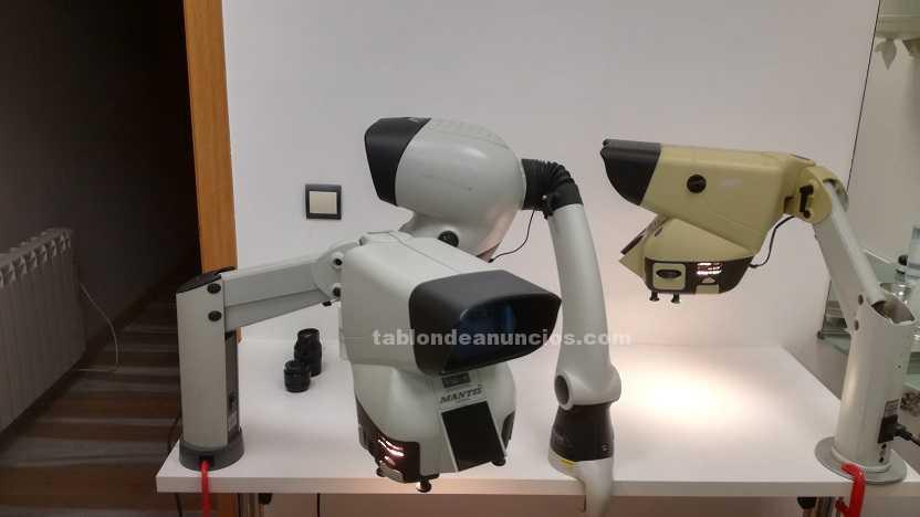 Microscopios y lentes Mantis