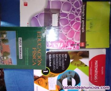 Vendo libros de 1º Bachiller