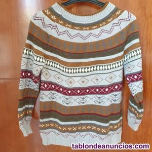 Jersey de punto multicolor