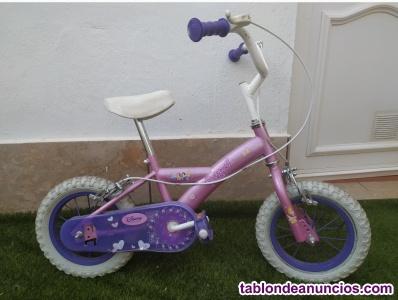 Venta de bicicleta niña con rueda 12'5 pulgadas