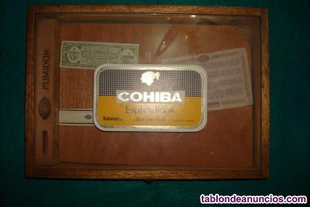 Caja Coibas Explendidos Habana (vacia)