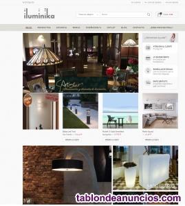 Venta de conocida tienda online de lamparas de diseño