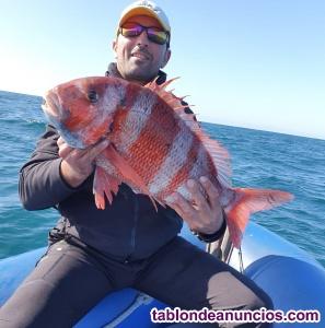 Salidas de pesca deportiva Garantizada