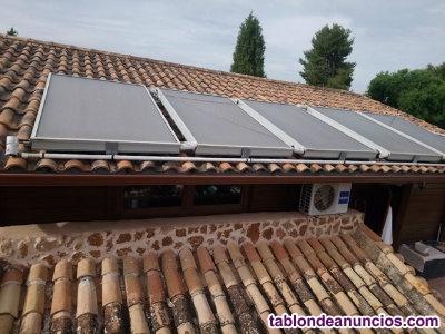 Vendo instalación solar de agua caliente