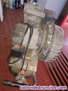 Compresor de Aire, marca_Cámara, potencia de 2 caballos con Polea, Seminuevo, 2
