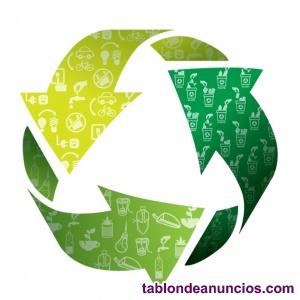 Planta de reciclaje junto con gestion logistica