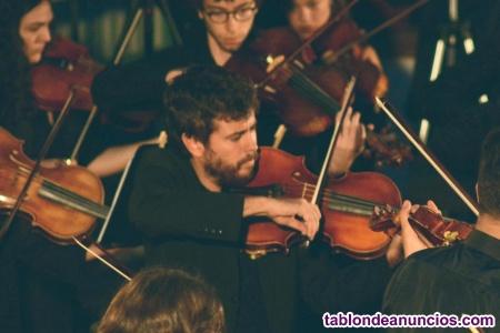 Violinista/violista para eventos
