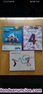 Libros 4 primaria Vicente Aleixandre