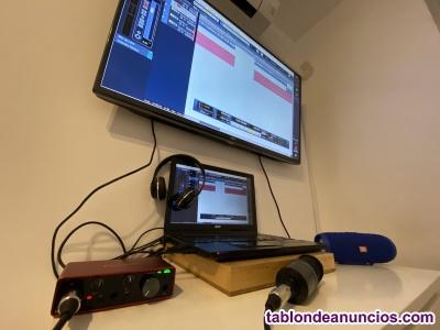 Estudio de producción y grabación musical