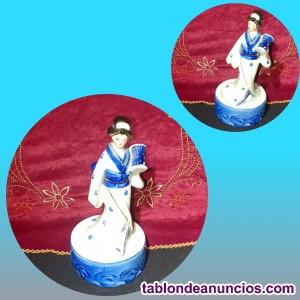 Figura de porcelana china