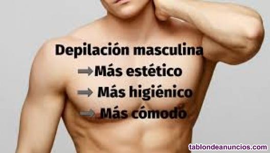 Depilación brasileña masculino